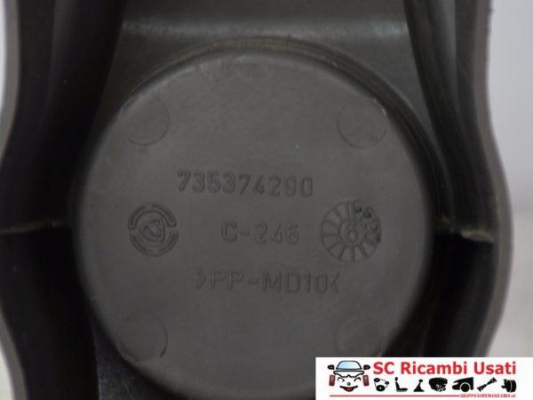 TUNNEL CONSOLE CENTRALE FIAT PANDA VAN 2005 735374290