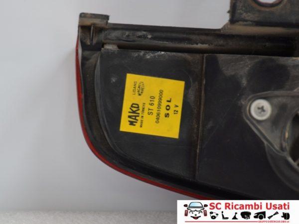 FANALE STOP POSTERIORE SINISTRO SX FIAT DOBLO 2001 40610748