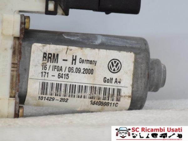 MOTORINO ALZAVETRO POSTERIORE SINISTRO VW GOLF 4 1J4959811C