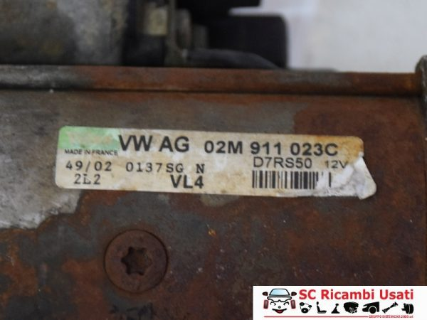 MOTORINO AVVIAMENTO 1.9 TDI 150CV VOLKWAGEN GOLF 4 02M911023C