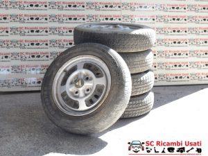 CERCHI R13 CON GOMME AUTOBIANCHI A112 1984