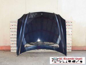 COFANO MOTORE ANTERIORE MERCEDES CLASSE E W211
