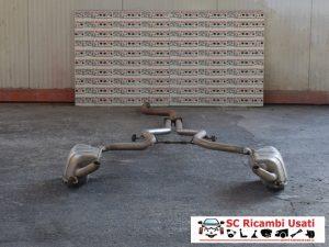 MARMITTA DOPPIO SCARICO MERCEDES CLASSE E W211 A2114910100