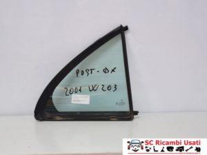 VETRO FISSO POSTERIORE DX MERCEDES CLASSE C W203 A2037300100