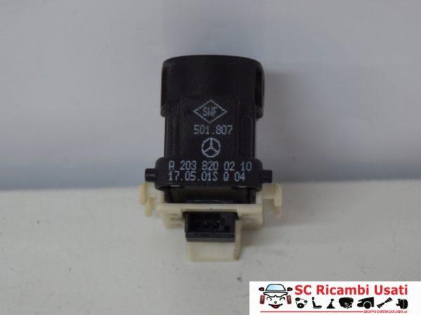 PULSANTE ALZAVETRO ANTERIORE DX MERCEDES CLASSE C A2038200210