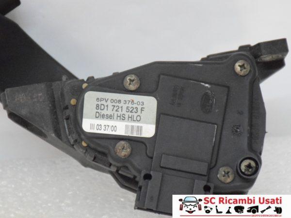 PEDALE ACCELERATORE VOLKSWAGEN PASSAT 1.9 TDI 8D1721523F 6PV00837603