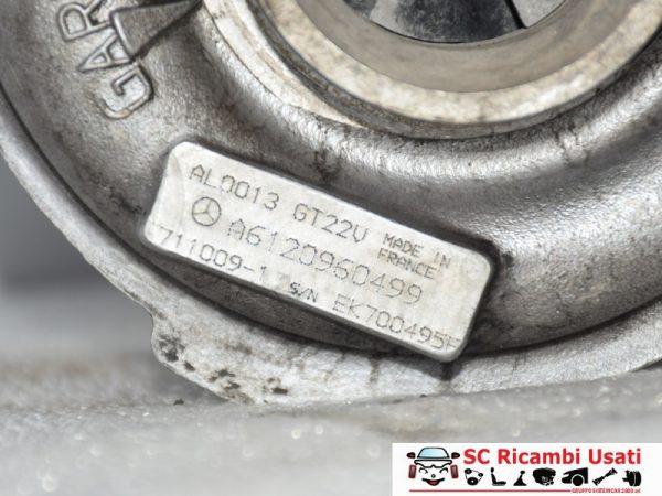TURBOCOMPRESSORE MERCEDES CLASSE C 270 CDI 2006 A6120960499