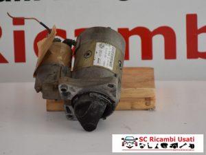 MOTORINO AVVIAMENTO FIAT PUNTO 2001 1.2 BENZINA 63101015