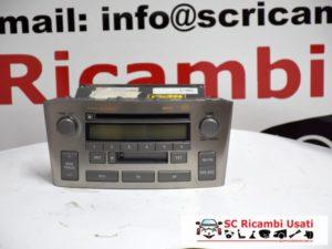 AUTORADIO TOYOTA AVENSIS 2005 8612005081