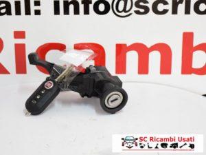 BLOCCHETTO ACCENSIONE CON CHIAVE FIAT 500L 2015 505254300
