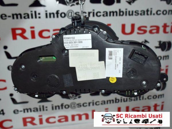 QUADRO STRUMENTI FIAT 500x 1.6 E-TORQ 52093102 52042697