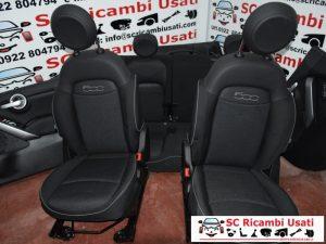 SEDILI ANTERIORI E POSTERIORI FIAT 500x 2017