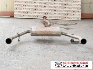MARMITTA DOPPIO SCARICO 2.0 ALFA ROMEO GIULIETTA 51807753
