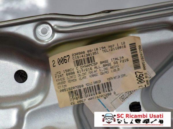 PANNELLO ALZAVETRO ANTERIORE DESTRO DX FIAT CROMA 71740200