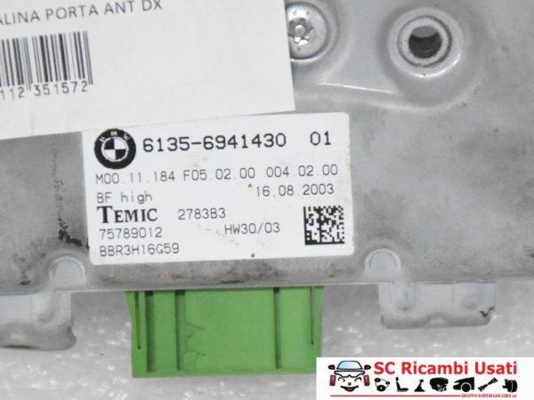 CENTRALINA PORTA ANTERIORE DX BMW SERIE 5 2005 61356941430