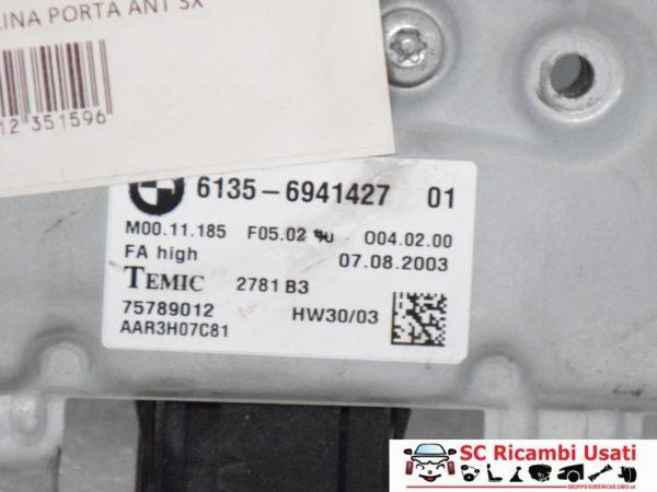 CENTRALINA PORTA ANTERIORE SX BMW SERIE 5 2006 61356941427