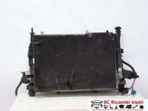 RADIATORE A/C ACQUA E INTERCOOLER ALFA BRERA 2.4 50507288 60698005