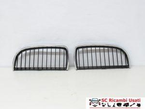 KIT GRIGLIA PARAURTI ANTERIORE BMW SERIE 3 E90/E91 7120007 7120008