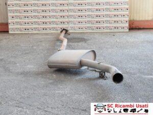 MARMITTA TUBO DI SCARICO 1.6 ALFA ROMEO GIULIETTA 51807557 51807540